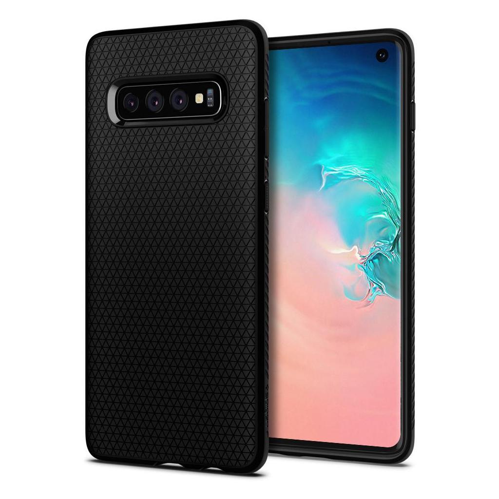 Spigen® Liquid Air™ 605CS25799 Samsung Galaxy S10 Case - Matte Black