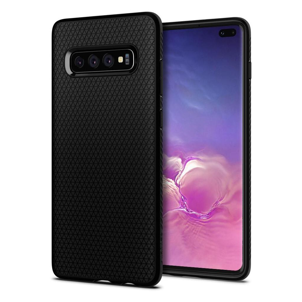 Spigen® Liquid Air™ 606CS25764 Galaxy S10+ Plus Case - Matte Black
