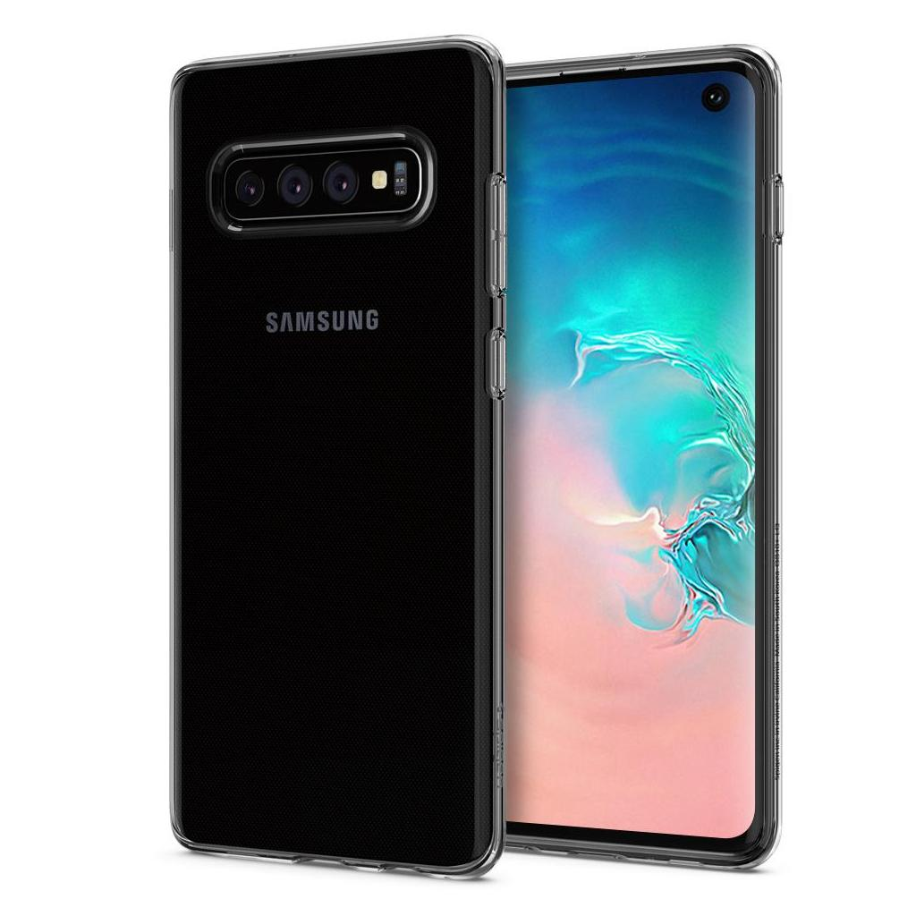 Spigen® Liquid Crystal™ 605CS25796 Samsung Galaxy S10 Case - Crystal Clear
