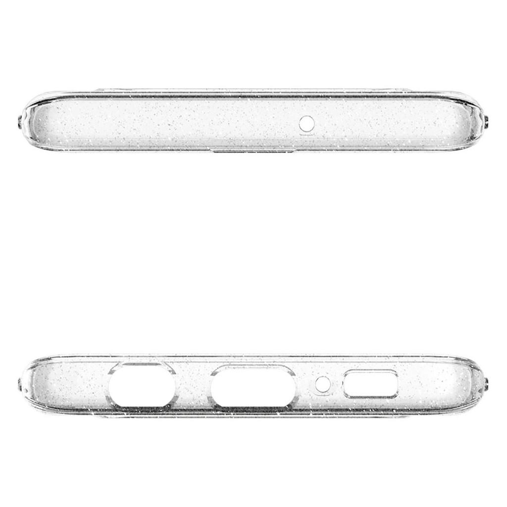 Spigen® Liquid Crystal Glitter™ 605CS25797 Samsung Galaxy S10 Case - Crystal Quartz