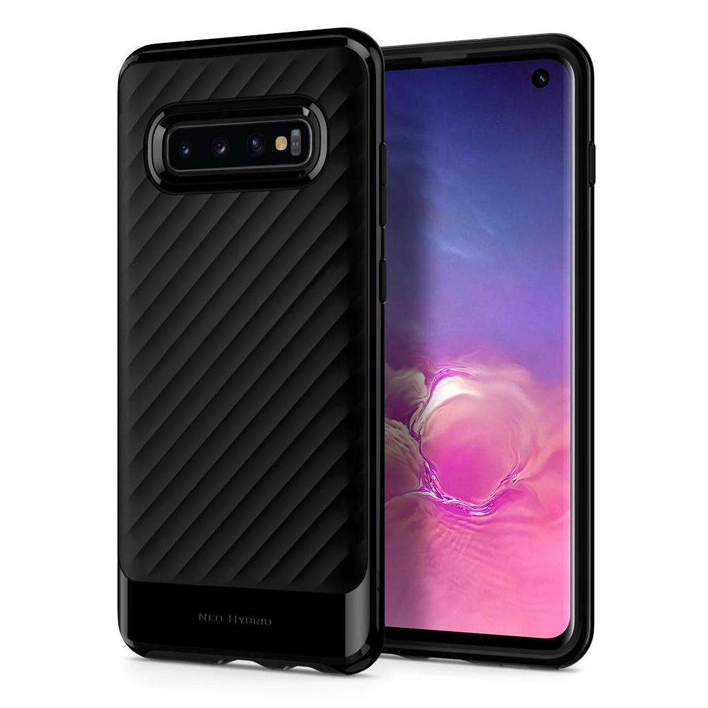 Spigen® Neo Hybrid™ 605CS25808 Samsung Galaxy S10 Case - Midnight Black