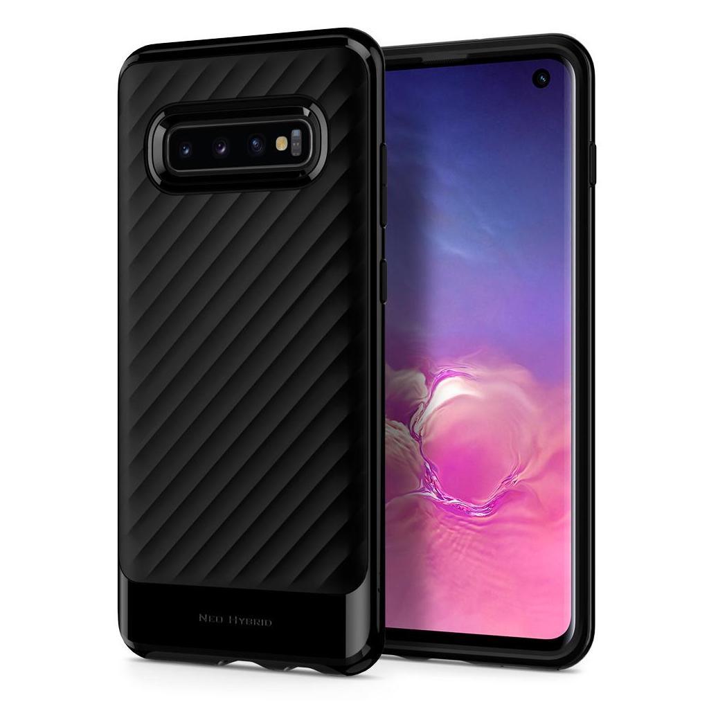 Spigen® Neo Hybrid™ 605CS25808 Samsung Galaxy S10 Case - Midnight Black