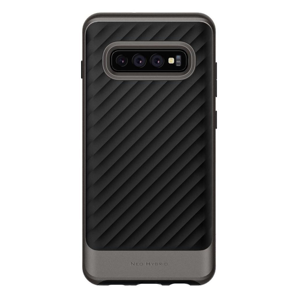 Spigen® Neo Hybrid™ 605CS25809 Samsung Galaxy S10 Case - Gunmetal