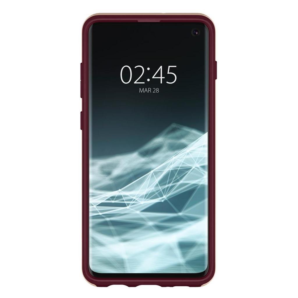 Spigen® Neo Hybrid™ 605CS25810 Samsung Galaxy S10 Case - Burgundy