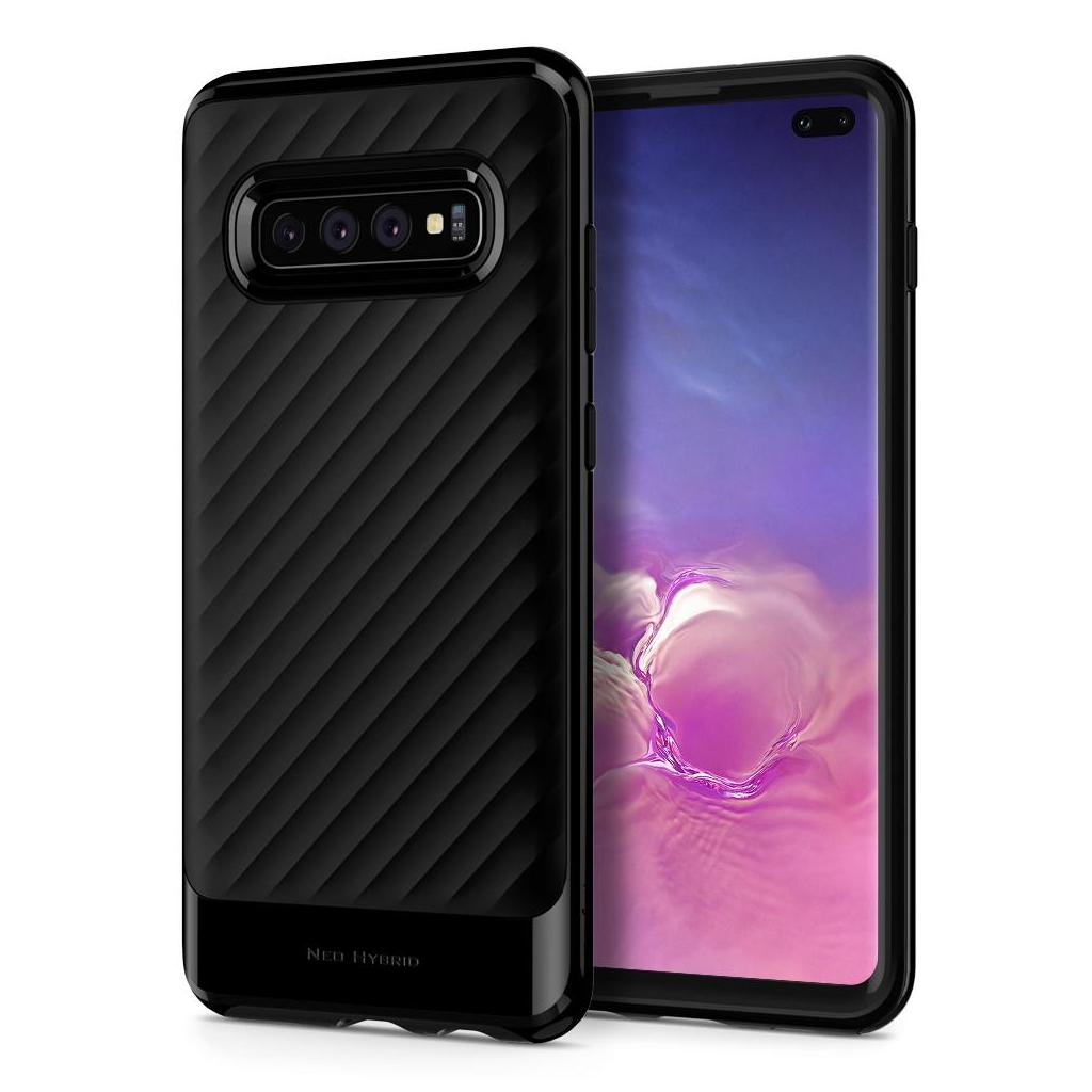 Spigen® Neo Hybrid™ 606CS25773 Galaxy S10+ Plus Case - Midnight Black