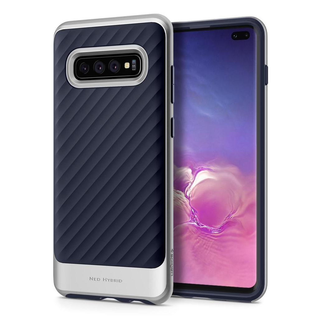 Spigen® Neo Hybrid™ 606CS25776 Samsung Galaxy S10+ Plus Case - Arctic Silver