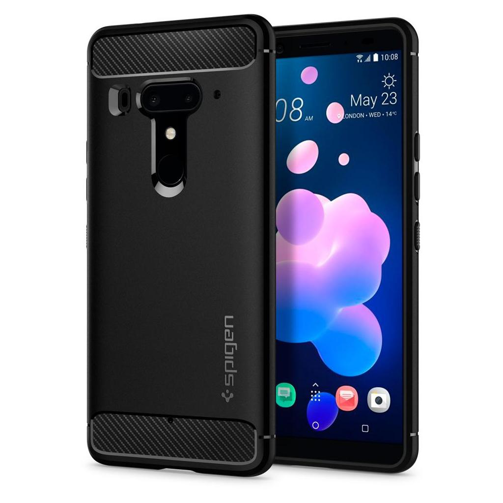 Spigen® Rugged Armor™ H12CS23356 HTC U12+ Plus Case - Black
