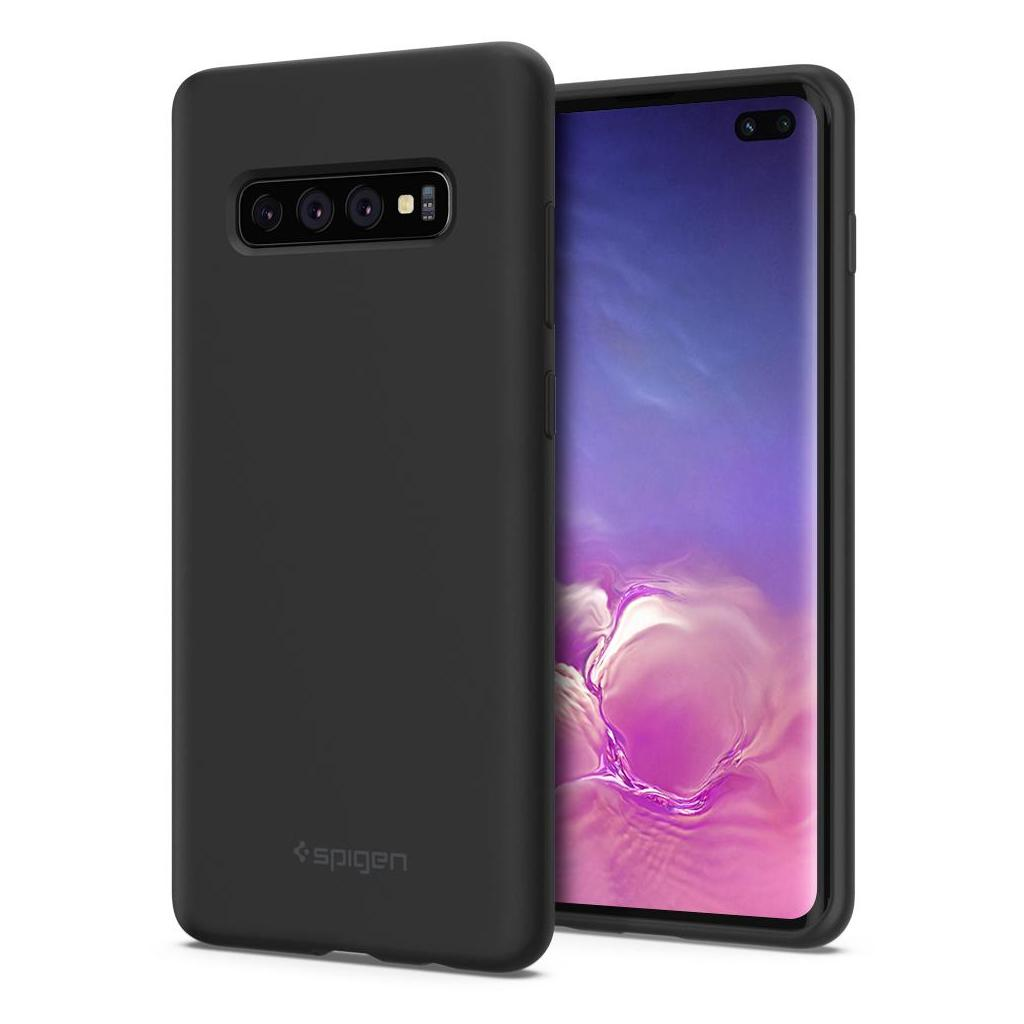 Spigen® Silicone Fit™ 606CS25783 Samsung Galaxy S10+ Plus Case - Black