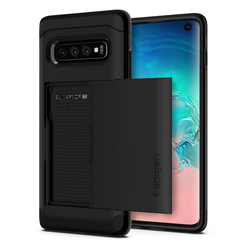Spigen® Slim Armor CS™ 605CS25816 Samsung Galaxy S10 Case - Black