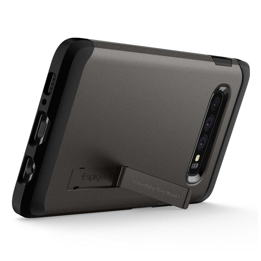 Spigen® Tough Armor™ 605CS25804 Samsung Galaxy S10 Case - Gunmetal