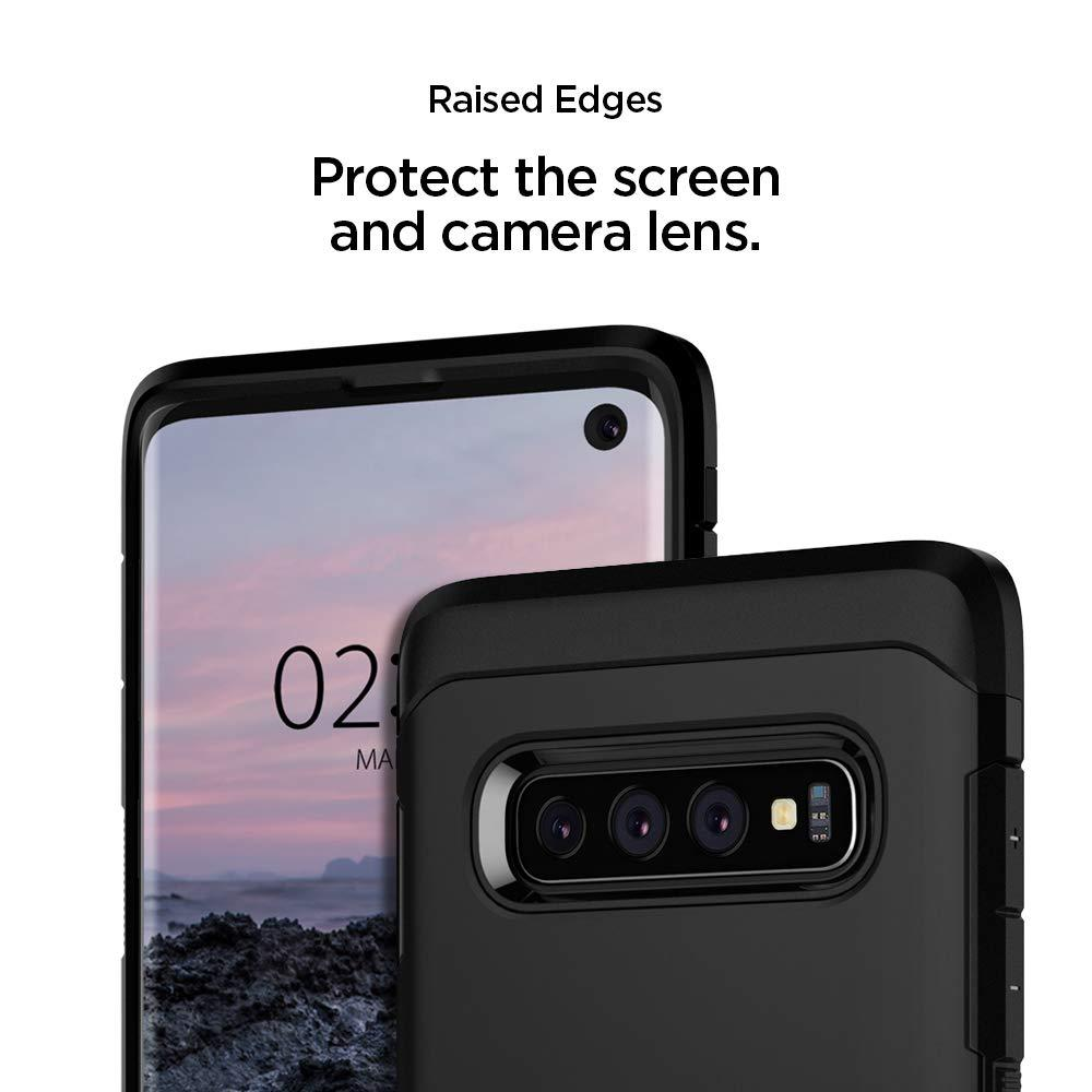 Spigen® Tough Armor™ 605CS25805 Samsung Galaxy S10 Case - Black