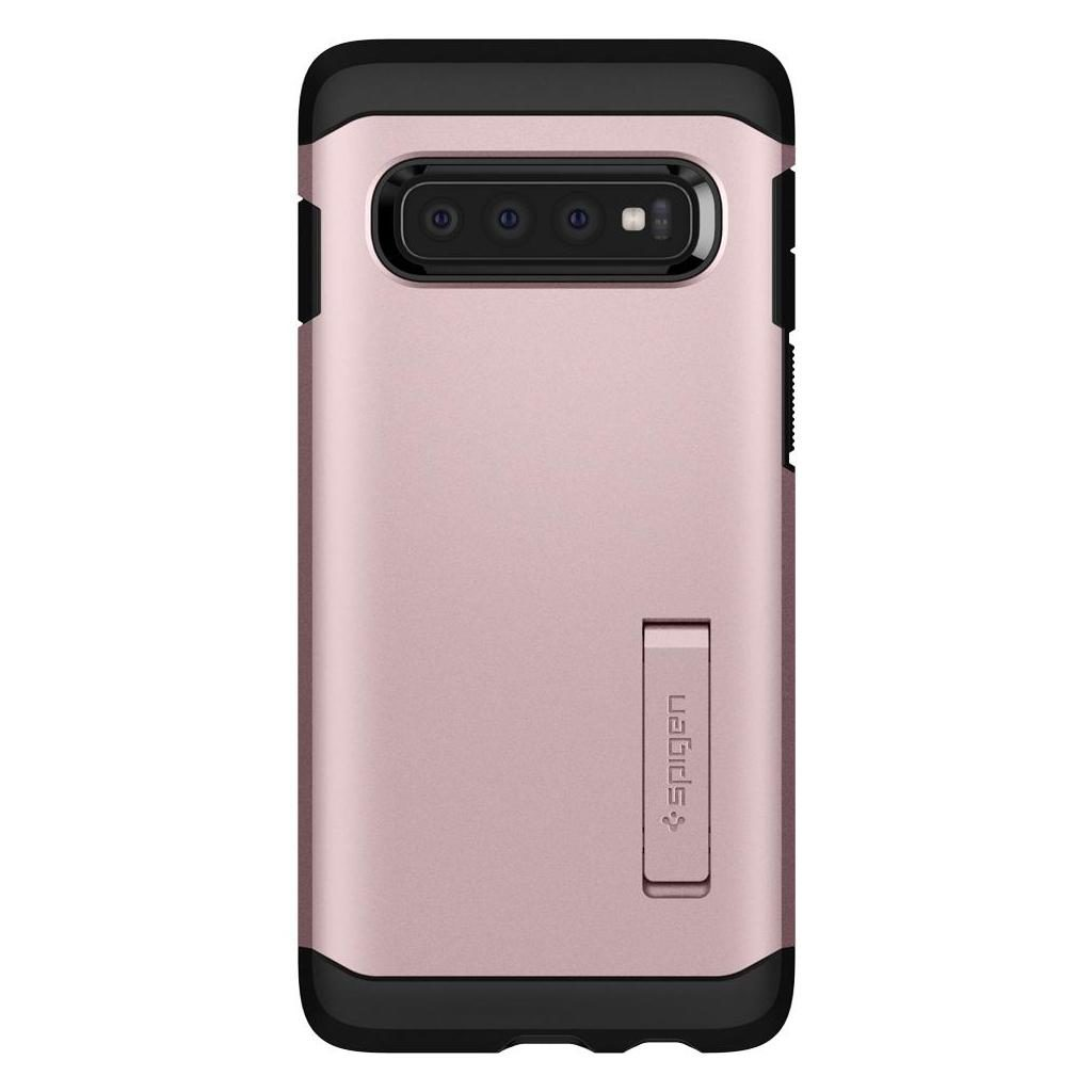 Spigen® Tough Armor™ 605CS25807 Samsung Galaxy S10 Case - Rose Gold