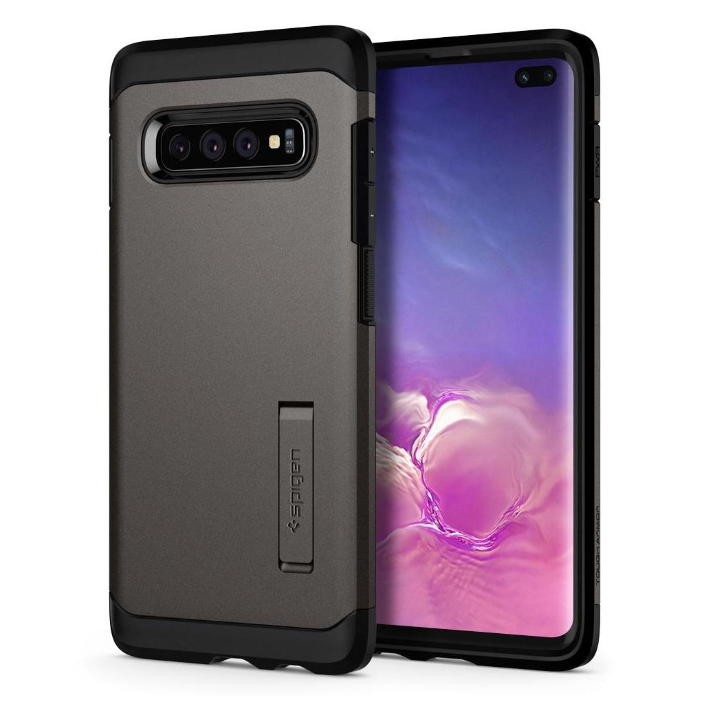 Spigen® Tough Armor™ 606CS25769 Samsung Galaxy S10+ Plus Case - Gunmetal