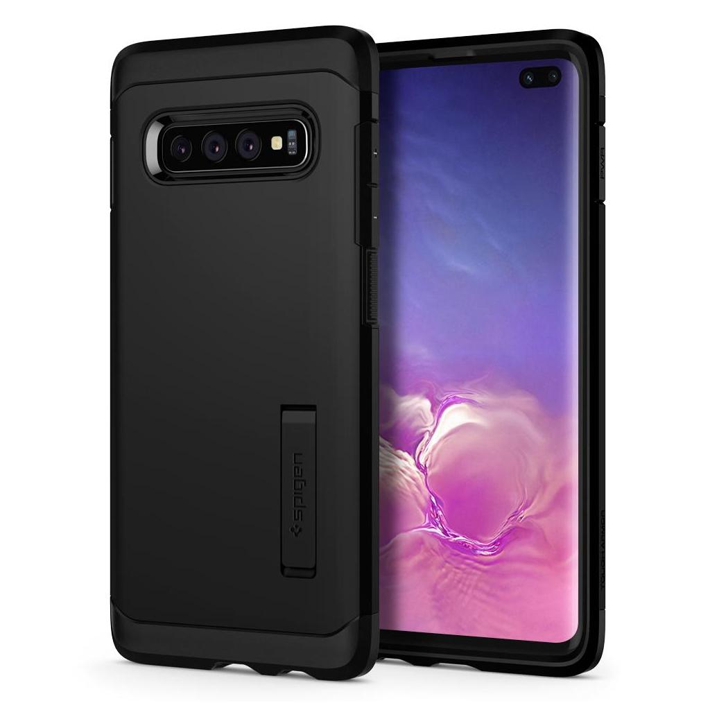 Spigen® Tough Armor™ 606CS25770 Samsung Galaxy S10+ Plus Case - Black