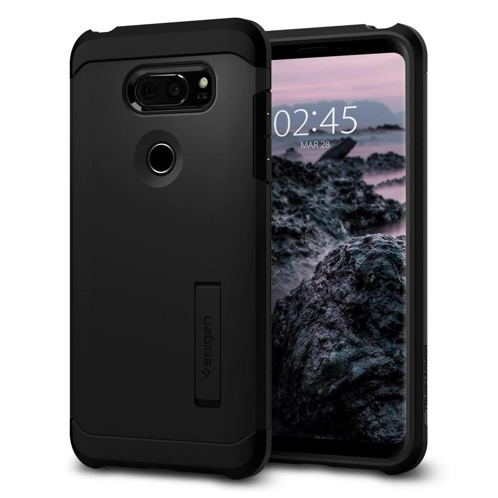 Spigen® Tough Armor™ A25CS21980 LG V30 Case - Black