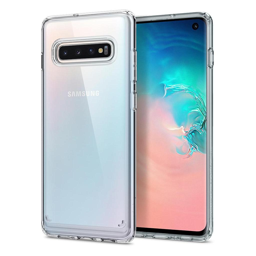 Spigen® Ultra Hybrid™ 605CS25801 Samsung Galaxy S10 Case - Crystal Clear
