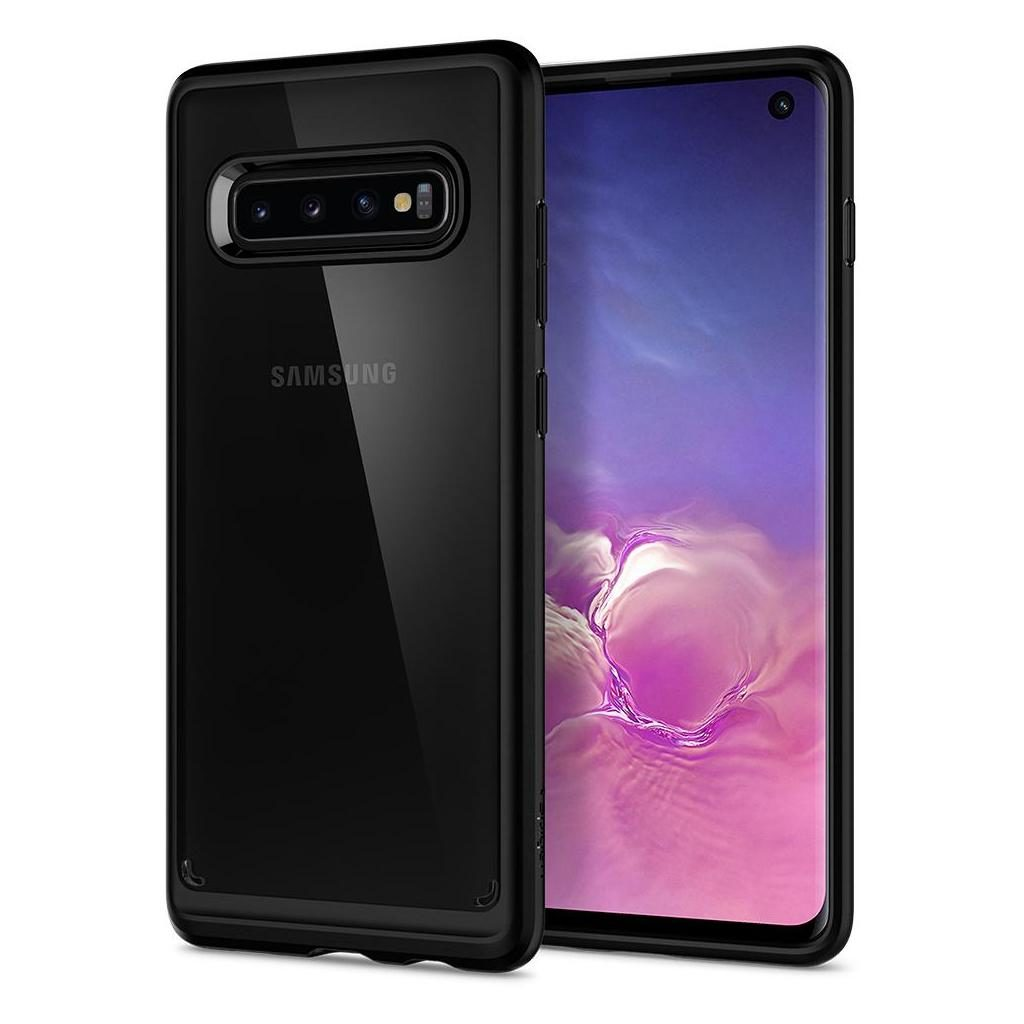 Spigen® Ultra Hybrid™ 605CS25802 Samsung Galaxy S10 Case - Matte Black