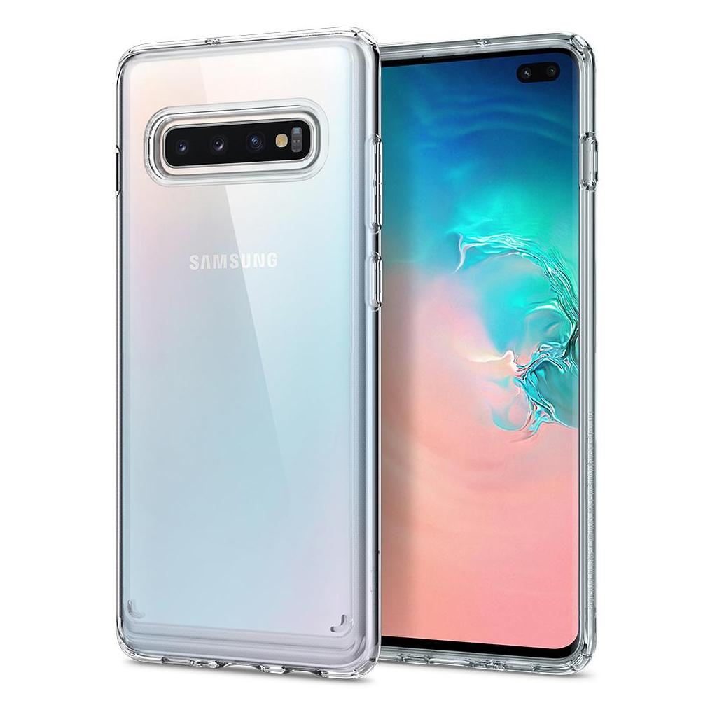 Spigen® Ultra Hybrid™ 606CS25766 Samsung Galaxy S10+ Plus Case - Crystal Clear