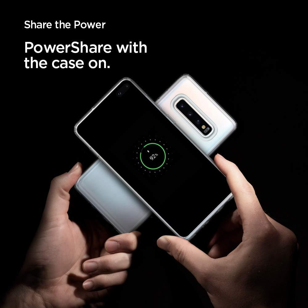Spigen® Ultra Hybrid™ 606CS25766 Samsung Galaxy S10+ Plus Case - Crystal Clear