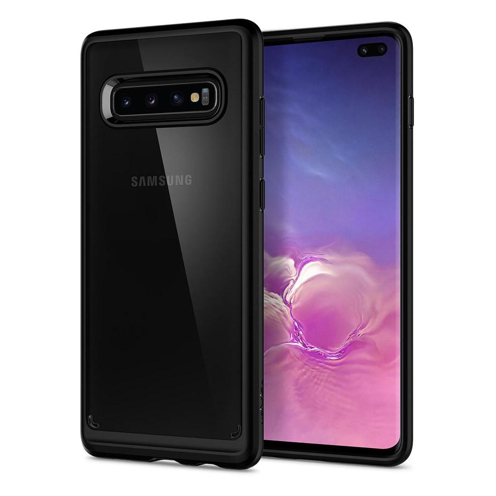 Spigen® Ultra Hybrid™ 606CS25767 Samsung Galaxy S10+ Plus Case - Matte Black
