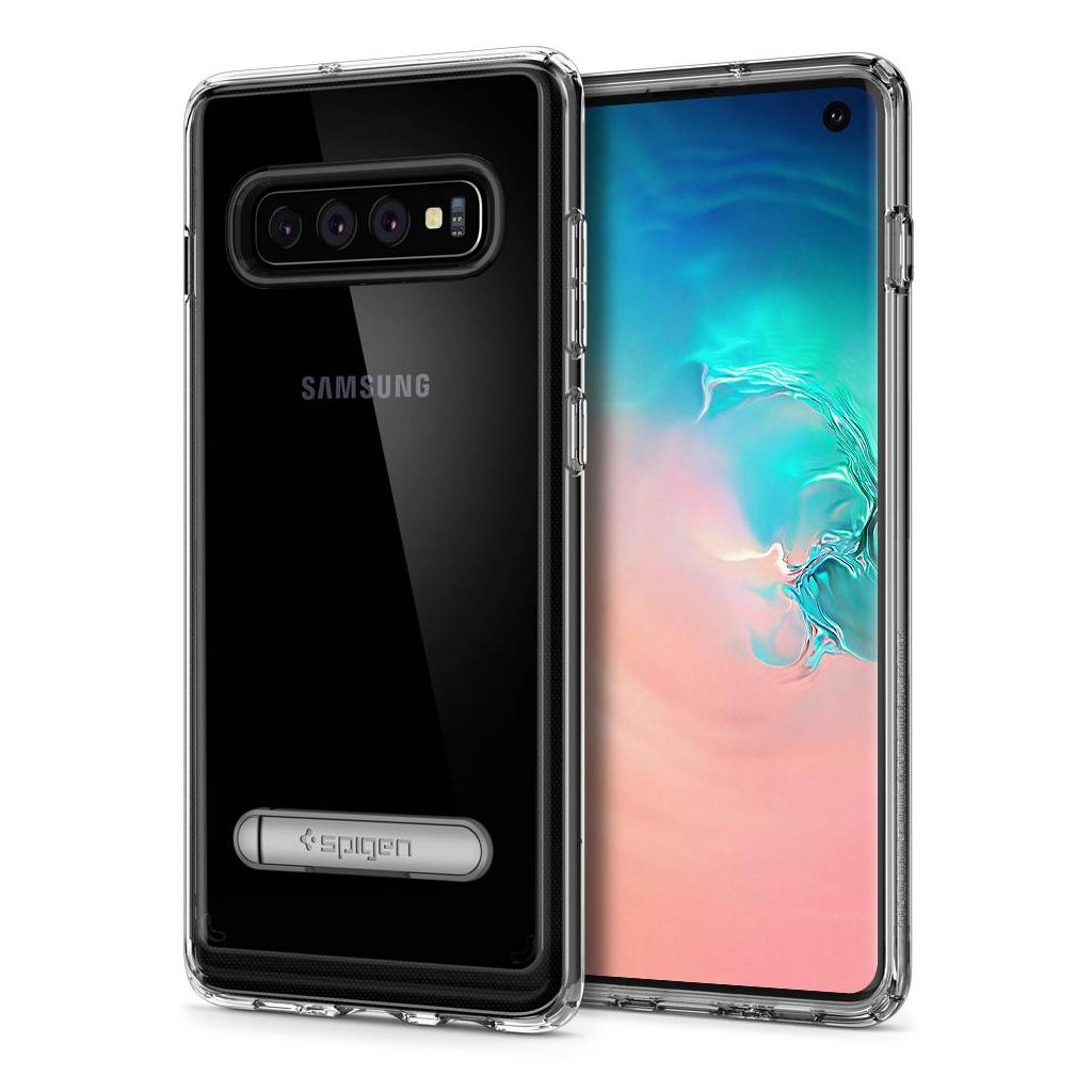 Spigen® Ultra Hybrid S™ 605CS25803 Samsung Galaxy S10 Case - Crystal Clear