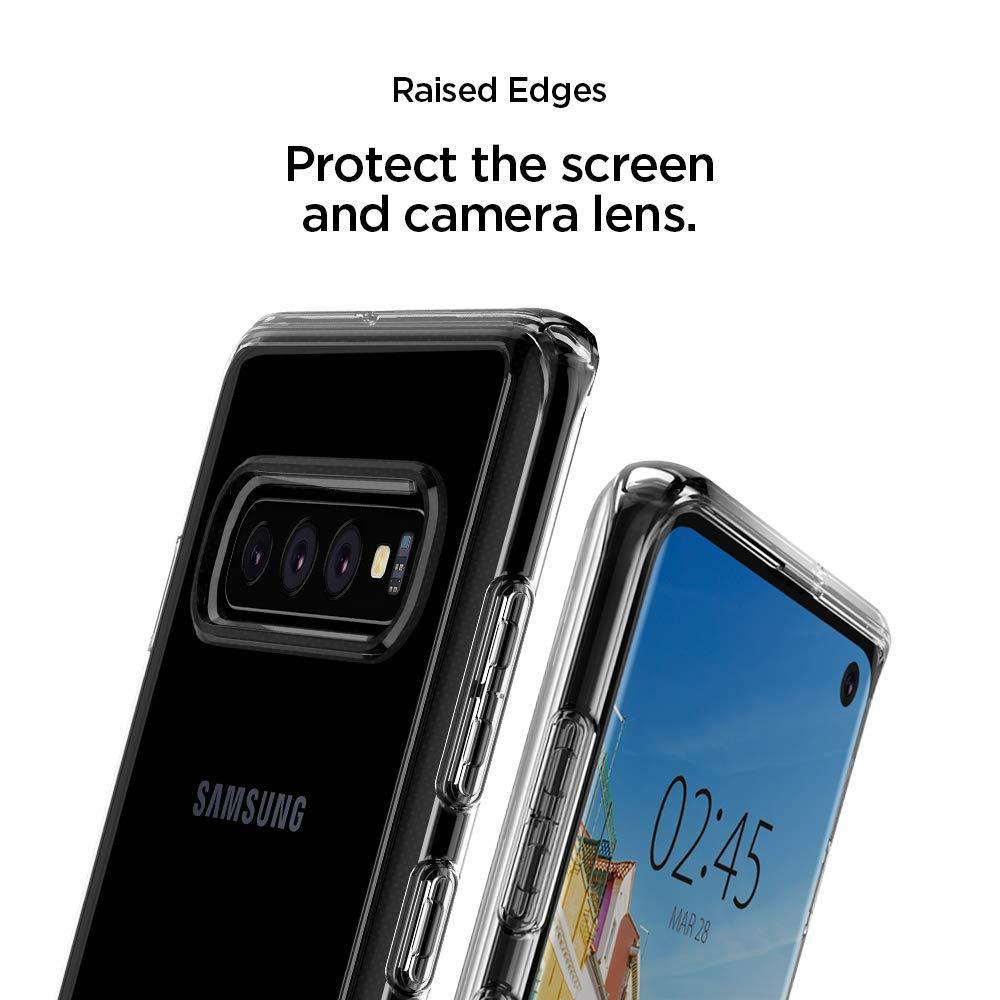 Spigen® Ultra Hybrid S™ 605CS25803 Samsung Galaxy S10 Case - Crystal Clear