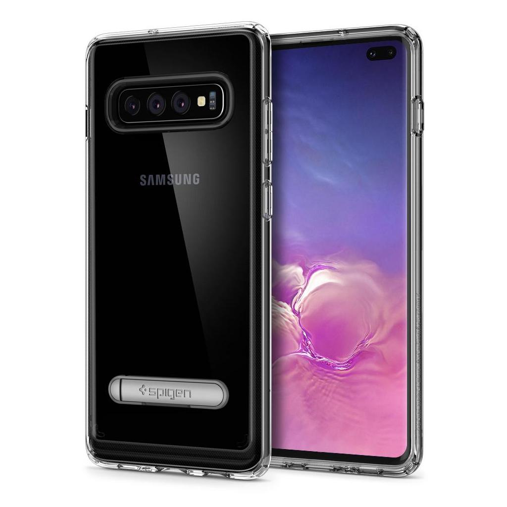 Spigen® Ultra Hybrid S™ 606CS25768 Samsung Galaxy S10+ Plus Case - Crystal Clear