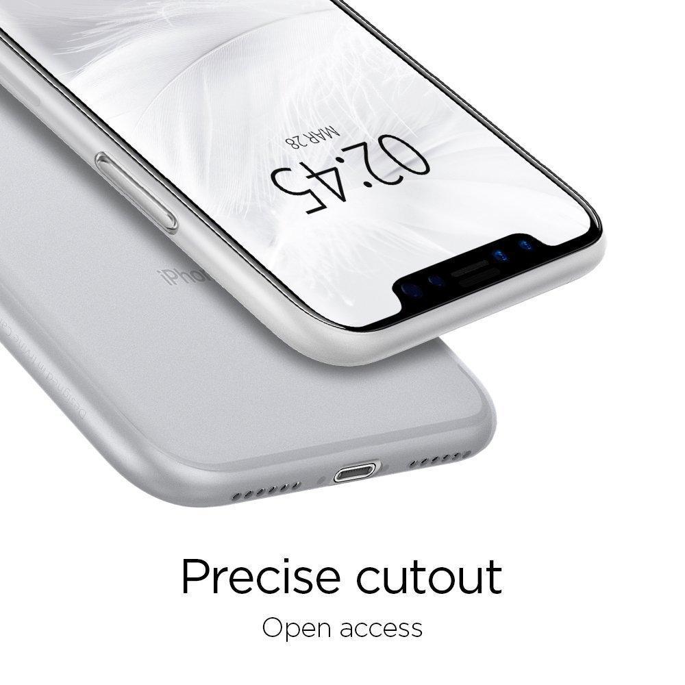 Spigen® AirSkin™ 063CS24909 iPhone XS / X Case - Soft Clear