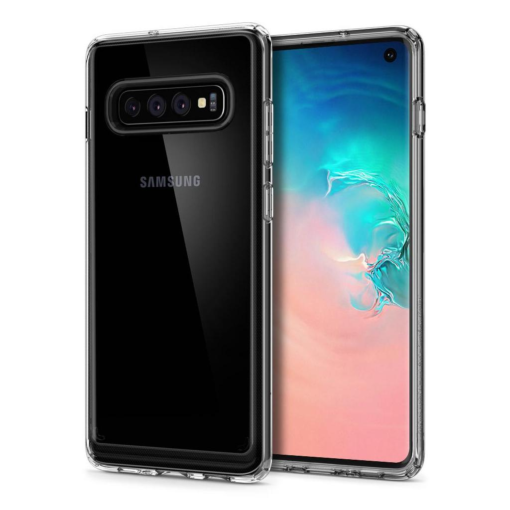 Spigen® Crystal Hybrid™ 605CS25661 Samsung Galaxy S10 Case – Crystal Clear