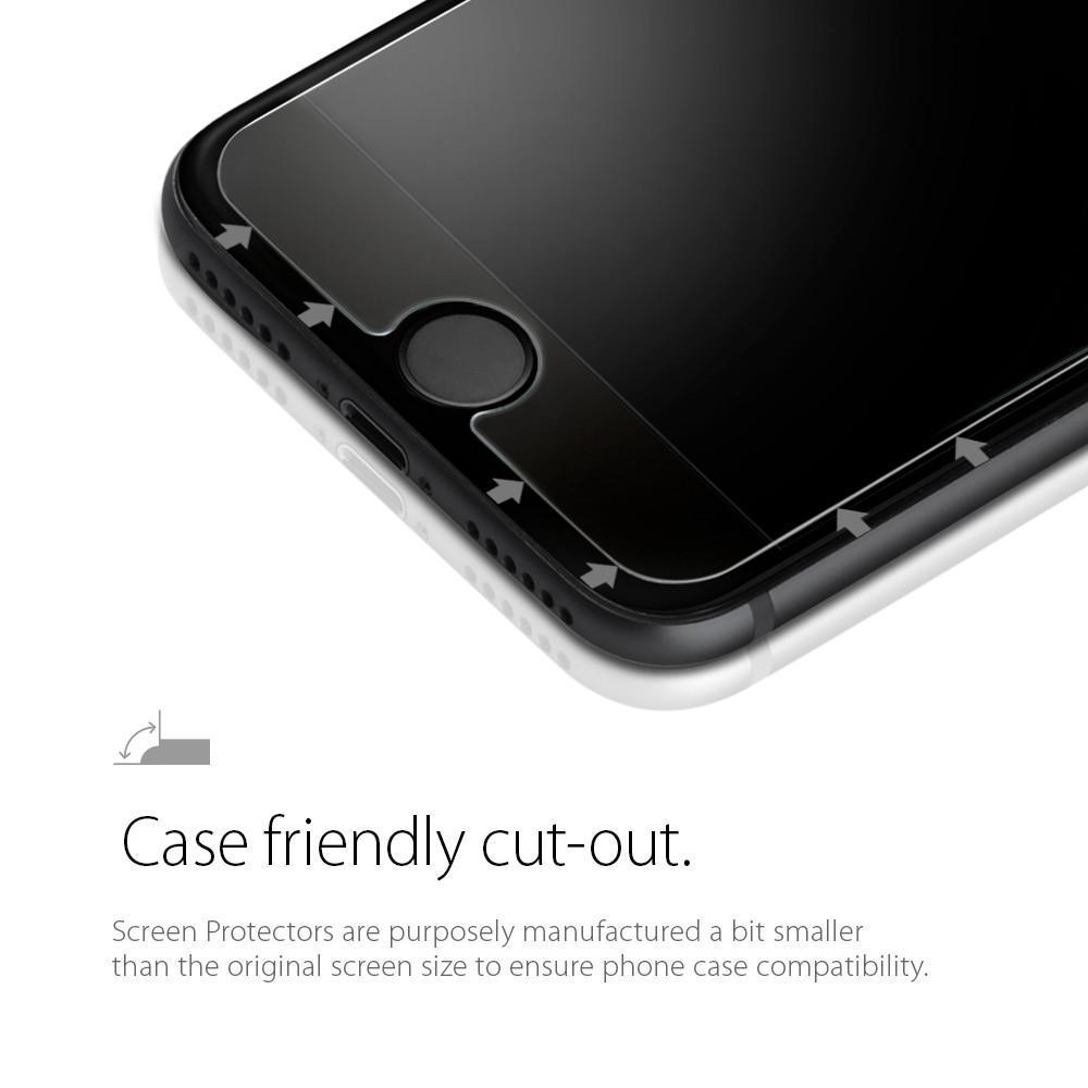 Spigen® GLAS.tR™ HD 042GL20607 iPhone 8 / 7 Premium Tempered Glass Screen Protector