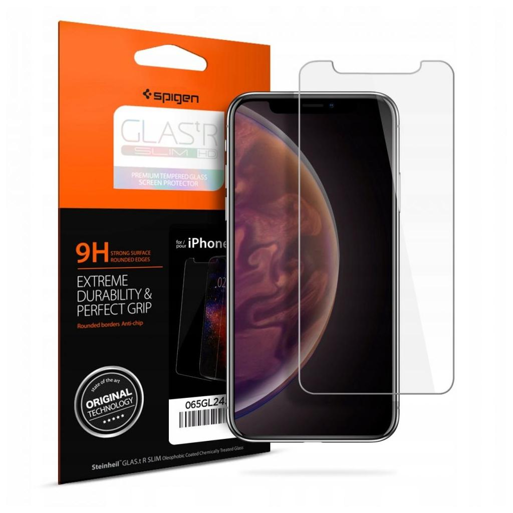 Spigen® GLAS.tR™ HD 063GL24514 iPhone XS / X Premium Tempered Glass Screen Protector
