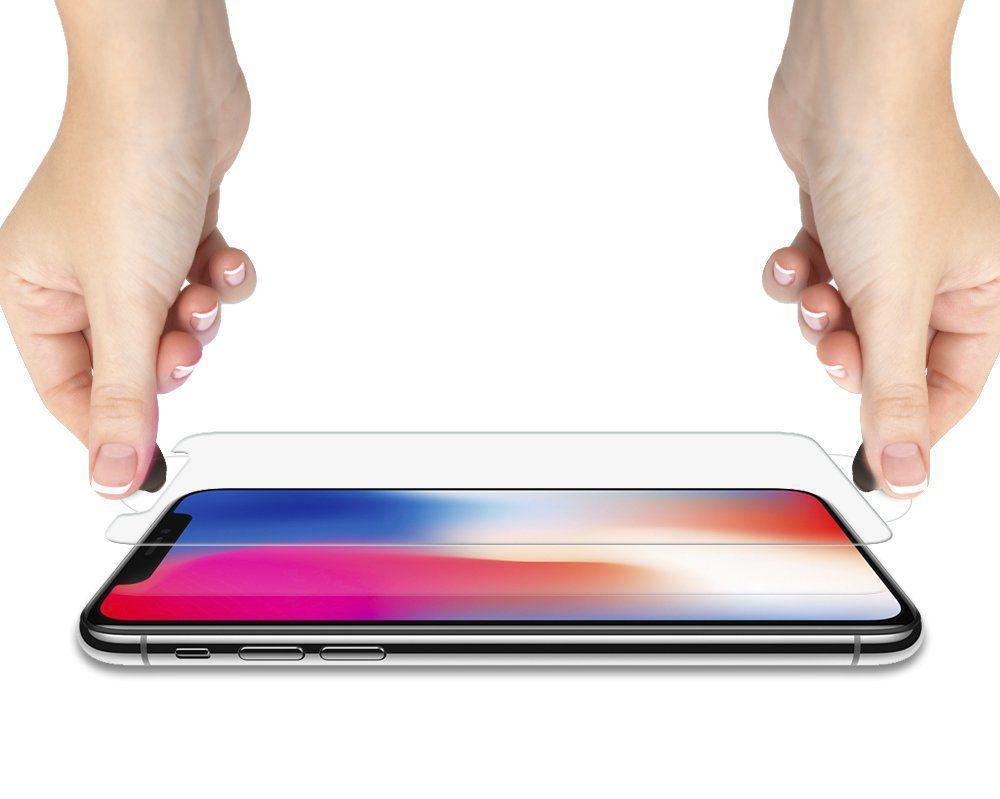 Spigen® GLAS.tR™ HD 063GL24514 iPhone XS / X Premium Tempered Glass Screen Protector
