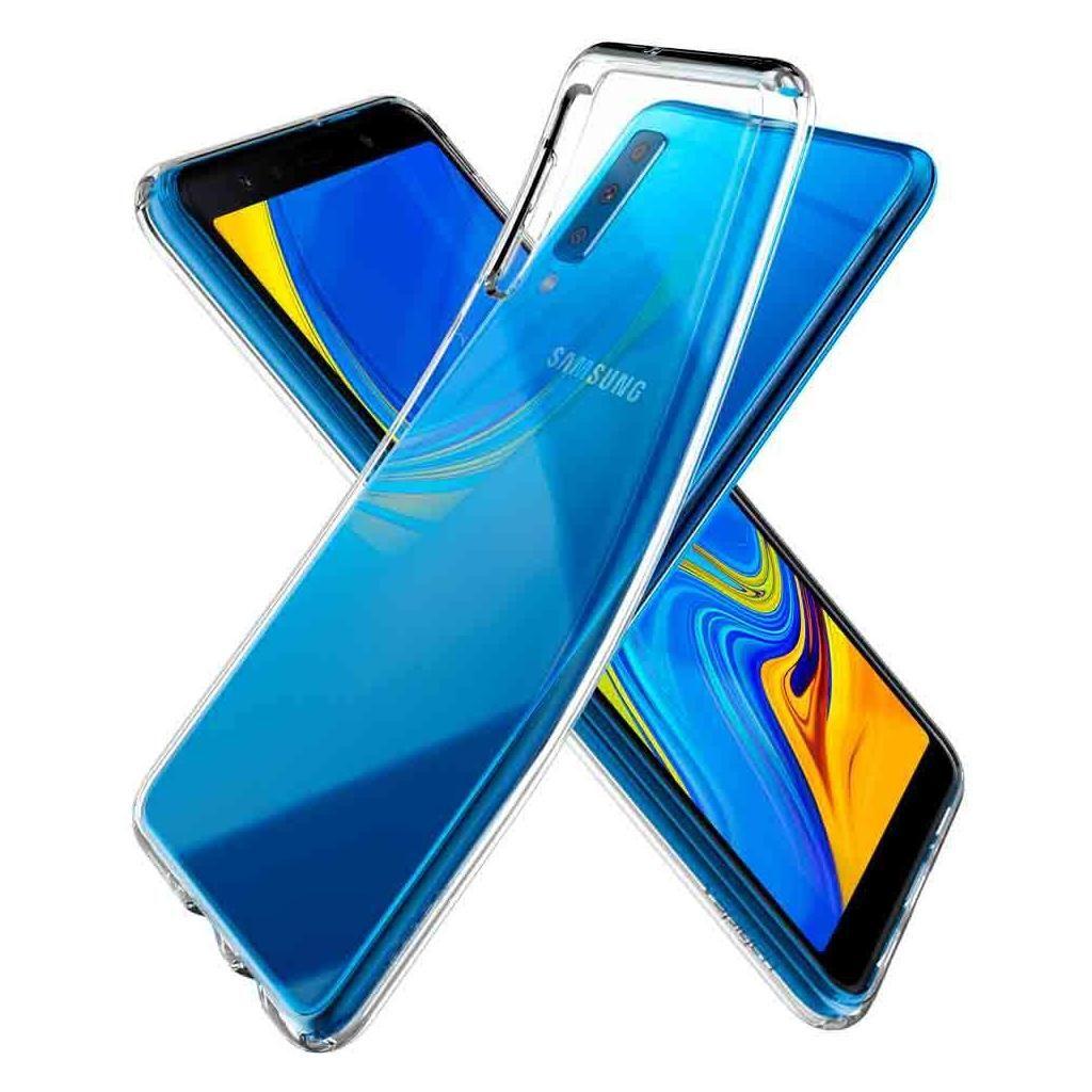 Spigen® Liquid Crystal™ 608CS25751 Samsung Galaxy A7 (2018) Case - Crystal Clear