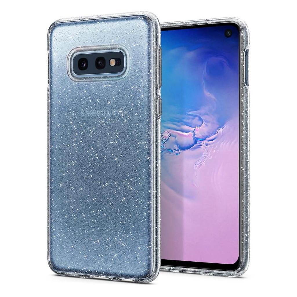 Spigen® Liquid Crystal Glitter™ 609CS25834 Samsung Galaxy S10e Case - Crystal Quartz