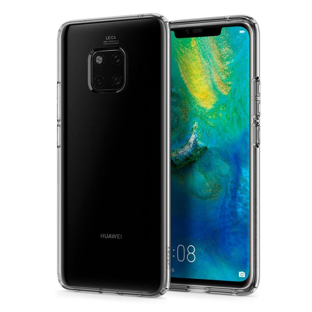 Spigen® Liquid Crystal™ L34CS25542 Huawei Mate 20 Pro Case - Crystal Clear