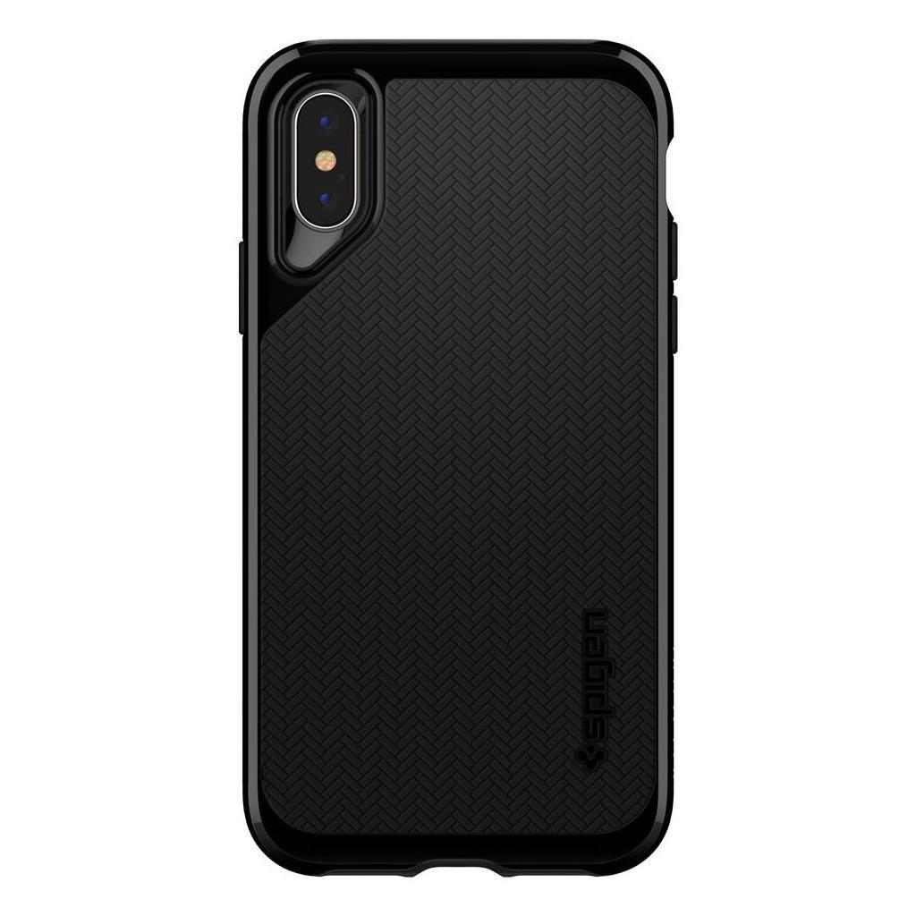 Spigen® Neo Hybrid™ 063CS24919 iPhone XS / X Case - Jet Black