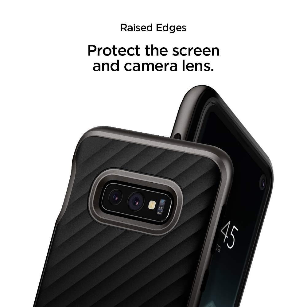 Spigen® Neo Hybrid™ 609CS25846 Samsung Galaxy S10e Case - Gunmetal