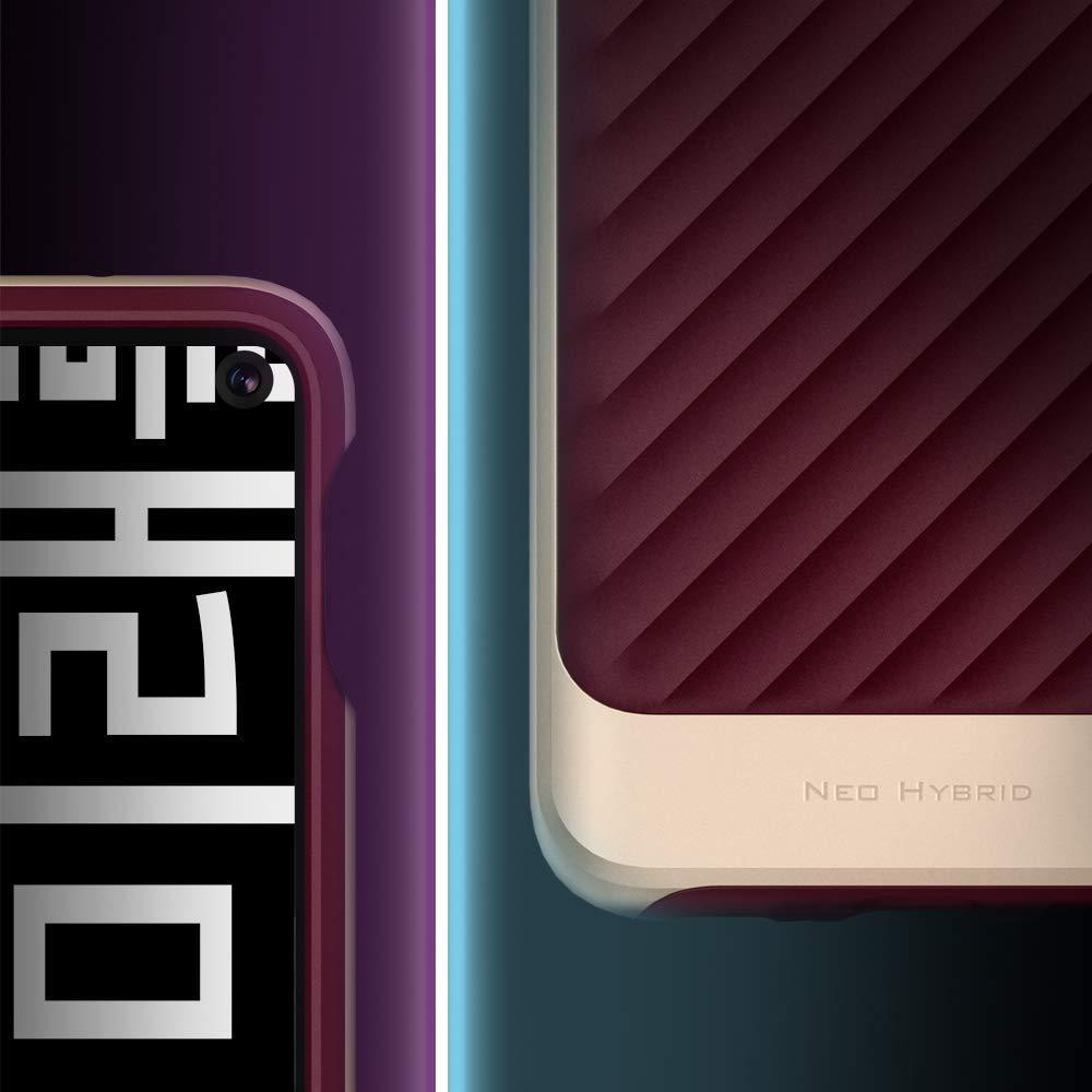 Spigen® Neo Hybrid™ 609CS25847 Samsung Galaxy S10e Case - Burgundy