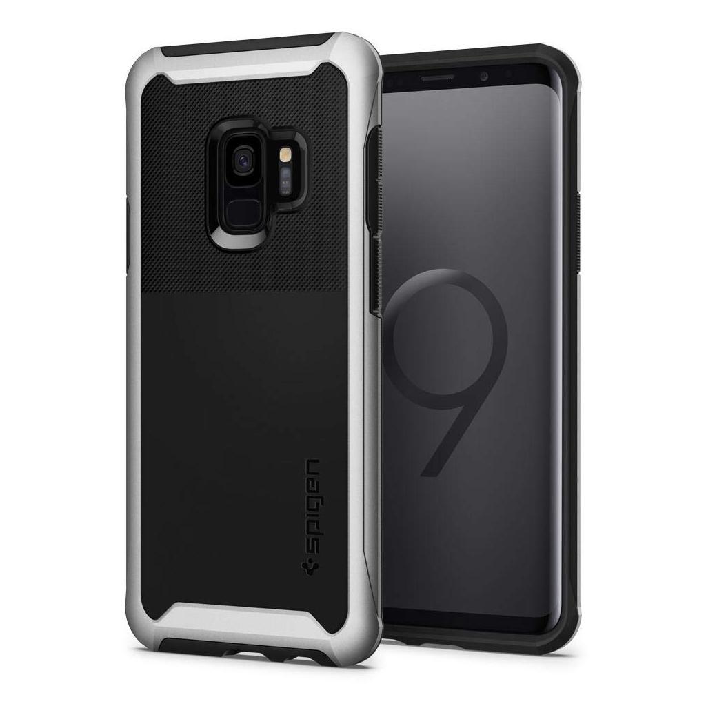 Spigen® Neo Hybrid™ Urban 592CS22890 Samsung Galaxy S9 Case – Arctic Silver