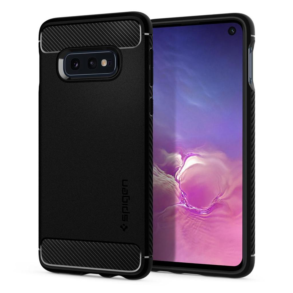 Spigen® Rugged Armor™ 609CS25837 Samsung Galaxy S10e Case - Matte Black