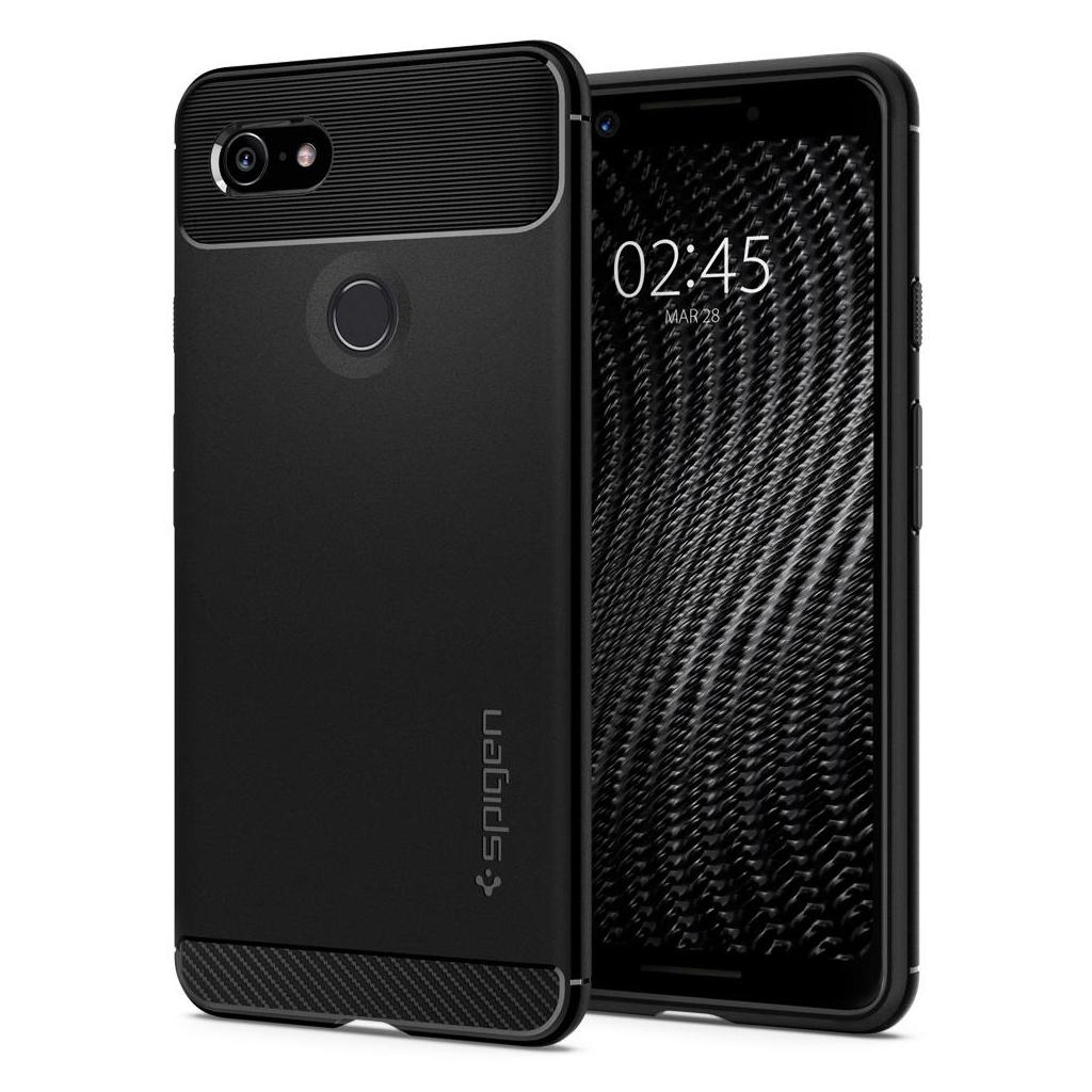 Spigen® Rugged Armor™ F19CS25031 Google Pixel 3 Case - Black