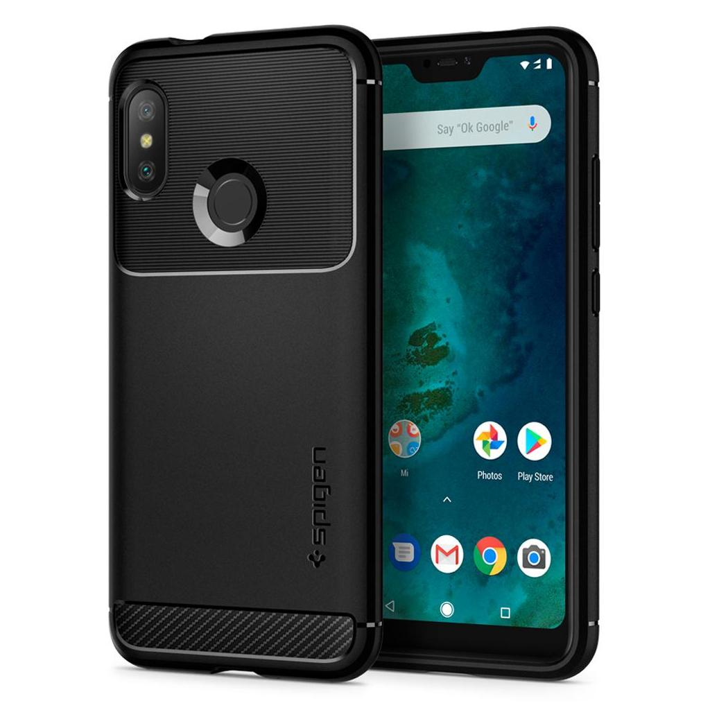 Spigen® Rugged Armor™ S28CS25599 Xiaomi Mi A2 Lite / Redmi 6 Pro Case - Black