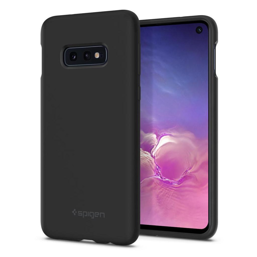 Spigen® Silicone Fit™ 609CS25854 Samsung Galaxy S10e Case - Black