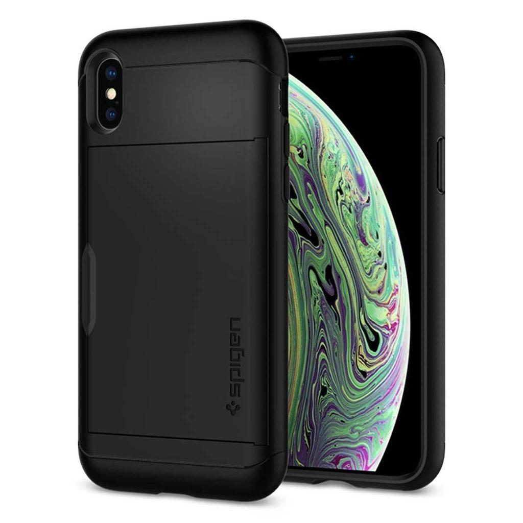 Spigen® Slim Armor CS™ 063CS24922 iPhone XS / X Case - Black