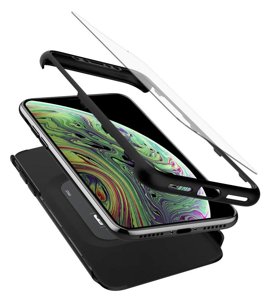 Spigen® Thin Fit 360™ 063CS24926 iPhone XS / X Case - Black