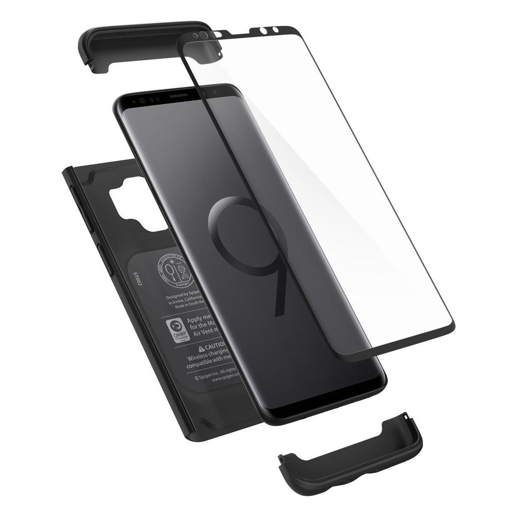 Spigen® Thin Fit 360™ 592CS22872 Samsung Galaxy S9 Case - Black