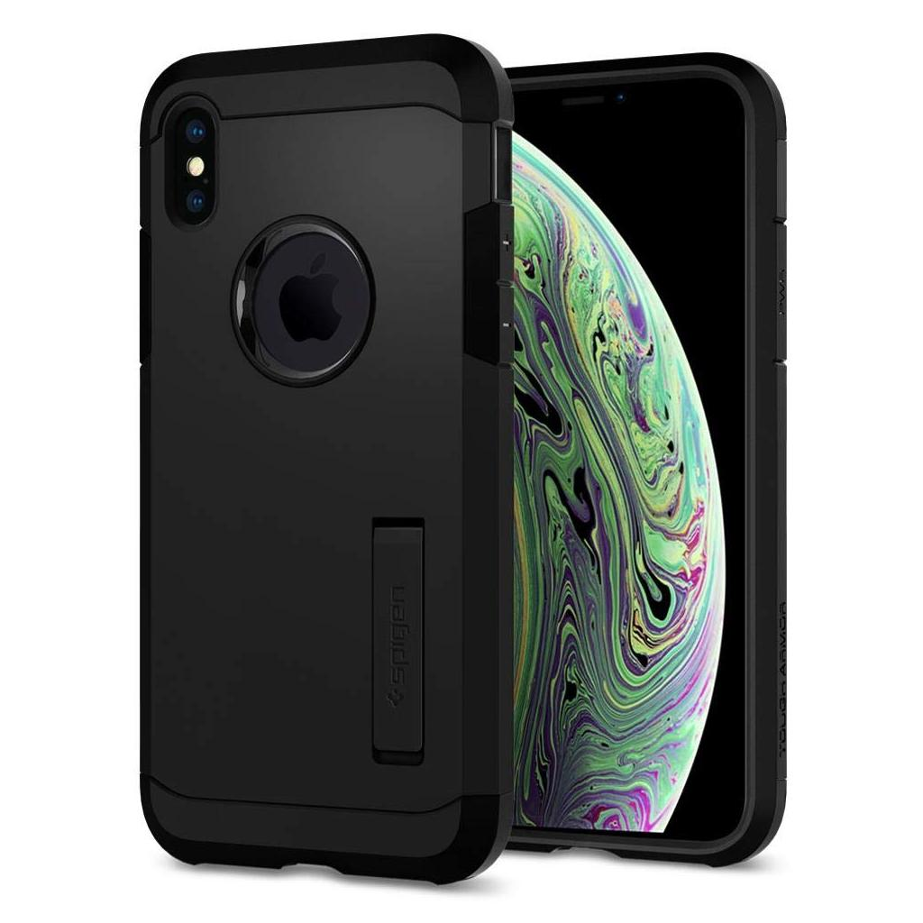 Spigen® Tough Armor™ 063CS25118 iPhone XS / X Case - Black