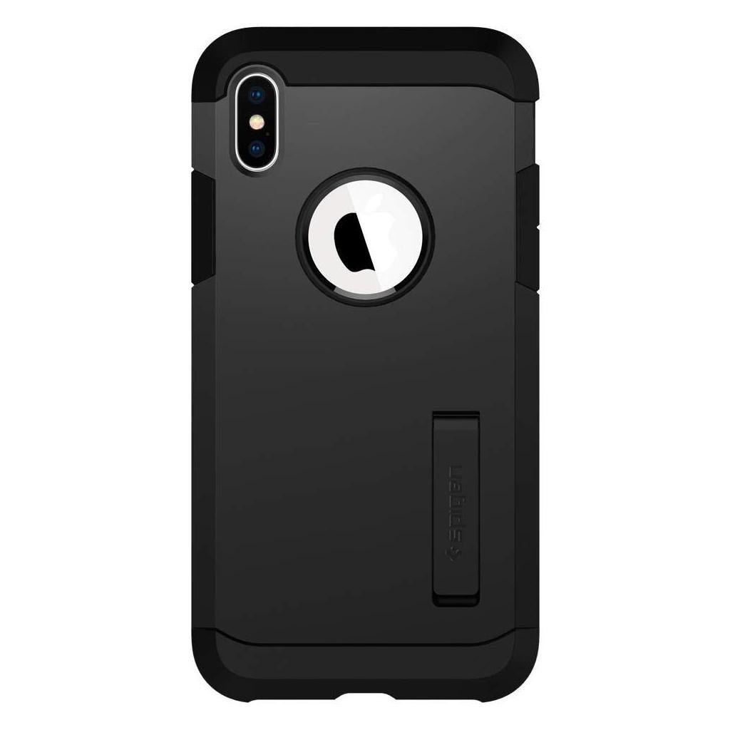 Spigen® Tough Armor™ 063CS25118 iPhone XS / X Case - Black