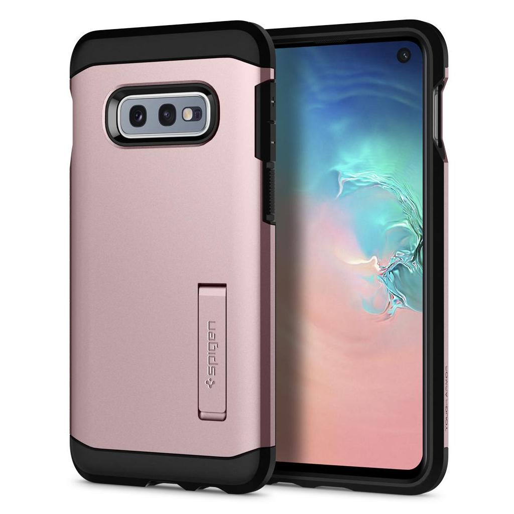 Spigen® Tough Armor™ 609CS25844 Samsung Galaxy S10e Case - Rose Gold
