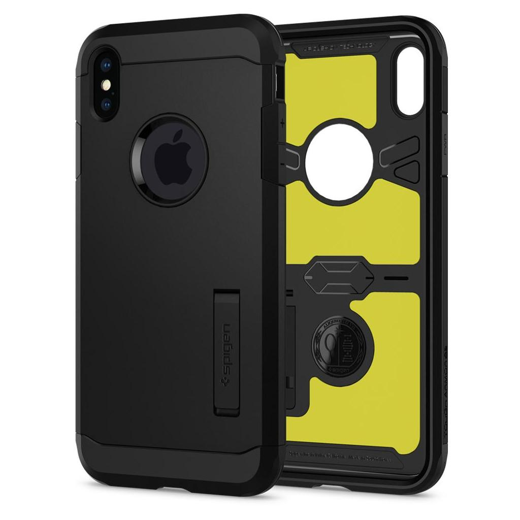 Spigen® Tough Armor™ XP 065CS25625 iPhone XS Max Case - Black